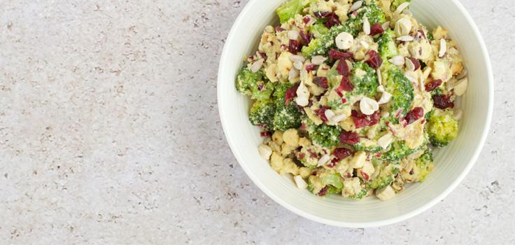 Crunchy Broccoli Salad Recipe Healthy Recipes
