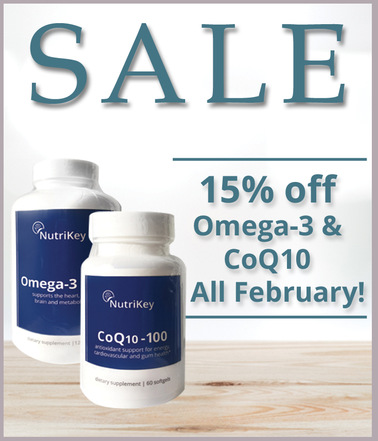 Omega-3 + CoQ10 on sale